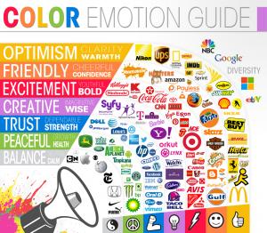 רגשות וצבעים