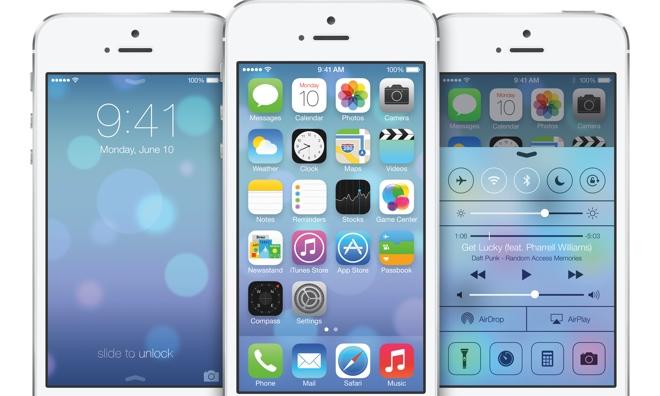 רקע של אייפון IOS7