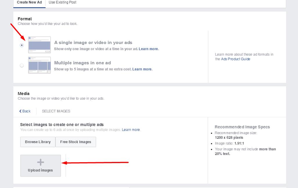 מודעות בפייסבוק
